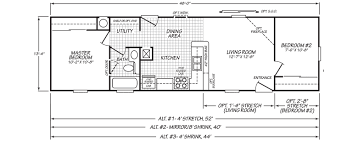 two bedroom floor plans mobile home floor plans single wide wide manufactured