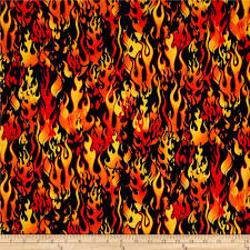 black and orange halloween background novelties flames orange black discount designer fabric fabric com