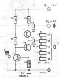 very simple audio mixer cir cuit circuits audio schematic