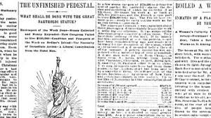 Pedestal Tickets Statue Of Liberty The Statue Of Liberty And America U0027s Crowdfunding Pioneer Bbc News