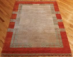 rugsville gabbeh tribal camel rust wool rug 13229 rugsville co uk
