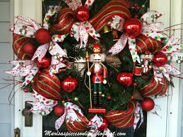Nutcracker Christmas Decorations To Make by Nutcracker Wreath Nutcrackers Pinterest Wreaths Holiday