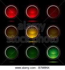 Traffic Light Order Sign Signal Green Lights Glow Icon Scribble Amber Red Sign Signal