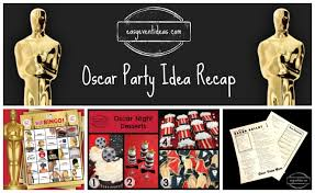 oscar party ideas oscar party idea recap 2014 easy event ideas