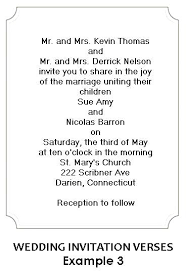 wedding invitation wording from and groom casual wedding invitation wording from and groom for