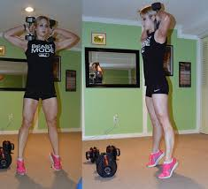 my body beast journey dumbbells and diapers