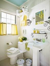 country style bathroom ideas yellow accents brighten this country style bathroom f