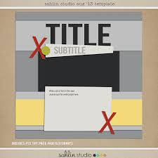 august 2013 digital scrapbooking free template sahlin studio