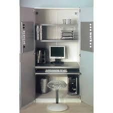 bureau informatique fermé bureau fermé pour ordinateur meuble pour ordinateur de bureau eyebuy
