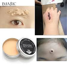 Professional Stage Makeup Special Effects Stage Makeup Halloween Party Fake Wound Scars Wax