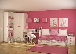 Space Saving Designs For Small Bedrooms Room Design Pink White Room Space Saving Designs For