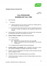 call procedures and business unit call tree bcmpedia a wiki