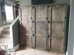 Entryway Locker System Diy Locker System Shanty 2 Chic