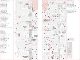 New York Map Manhattan by Midtown Manhattan New York Map Manhattan Ny U2022 Mappery