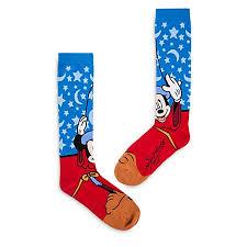 socks for adults sorcerer mickey mouse knee high socks