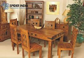 Jali Dining Table And Chairs Wooden Dining Table Set Sheesham Wood Dining Table Set Exporter