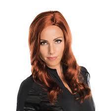 halloween costumes captain america buy marvel u0027s captain america civil war black widow wig