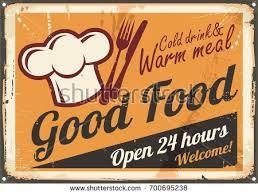 restaurant sign knife fork symbol diner stock vector 723074539