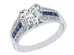 heart shaped horseshoes fancy heart shape diamond vintage horseshoe engagement ring 0 6