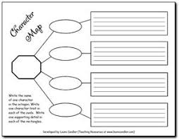 free character trait graphic organizer from laura candler u0027s