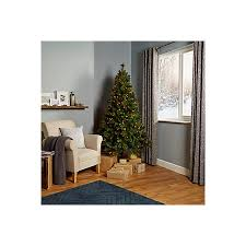 6ft 6in richland pre lit u0026 pre decorated christmas tree