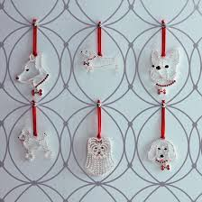 Christmas Ornament Storage Frontgate by Crystal Dog Breed Ornaments Frontgate