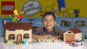 Simpsons House Floor Plan The Simpsons House Lego Simpsons Set 71006 Time Lapse Build
