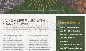 church newsletter templates free download lovely template free
