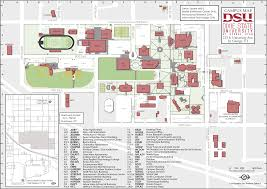 Show Me A Map Of Utah by Dixie State University Trio Campus Map