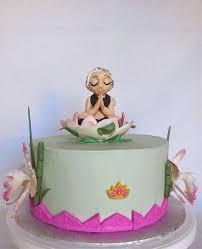 16 best yoga cake images on pinterest yoga party birthday cakes