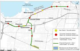 Map Of Ottawa Notice Of Completion Of Transit Project Assessment Process Stage