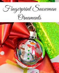 fingerprint ornaments one artsy mama