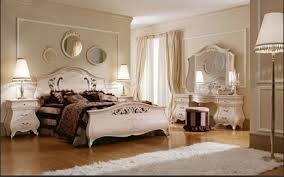 white chandelier inside modern classic bedrooms designs with cream