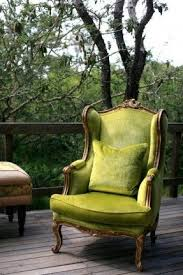 French Wingback Chair Green Wingback Chair Foter