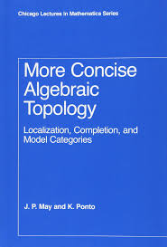 more concise algebraic topology localization completion and
