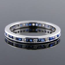 544b 420p art deco inspired french cut sapphire baguette and round