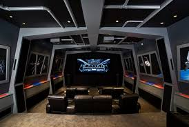 4 Rooms With Out Of This World Star Wars Home Theater Design Home Theatre Design