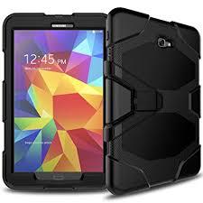 Samsung Galaxy Rugged Amazon Com Samsung Galaxy Tab A 10 1 Case Sm T580 Slim Heavy