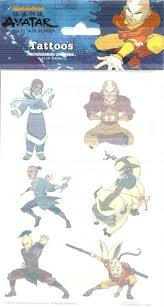 the last airbender tattoos avatar tattoos