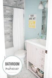bathroom makeover free printable gray bath and house