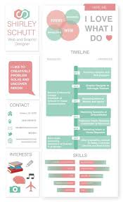 Resume Promotion When Infographics Meet Resume 36 Excellent Examples Blog Of