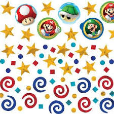 mario wrapping paper mario brothers toys and