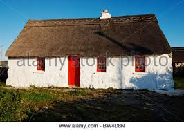 Thatched Cottage Ireland by Traditional Irish Thatched Cottage Near Doolin And The Cliffs Of