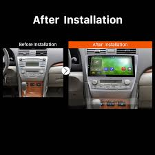 toyota camry 2007 audio system inch 2007 2011 toyota camry android 7 1 1024 600 touchscreen radio