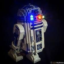 light my bricks led light kit for lego wars r2d2 set 10225
