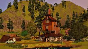 Harry Potter Home Sims 3 Harry Potter Wesley Family House Youtube