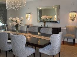 Large Dining Room Mirrors - mirror livingroom decorating ideas beautiful wooden framed
