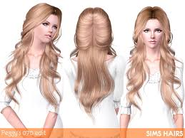 sims 3 custom content hair long hair for the sims 3 isabelle hairstyle by alexandra sine