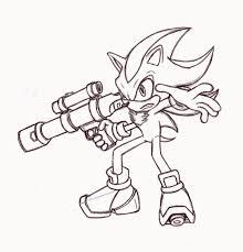 shadow hedgehog coloring 18 drawings