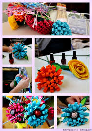 beth k vogt diy how to create a nail polish bouquet